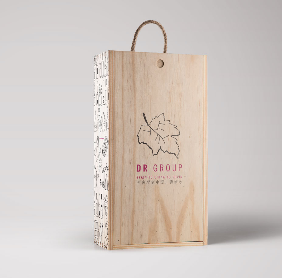 drgroup wine pack - design by jordi boix