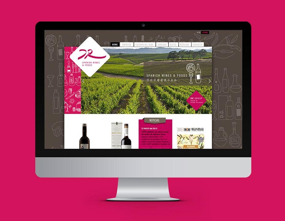 drwines web - design by jordi boix
