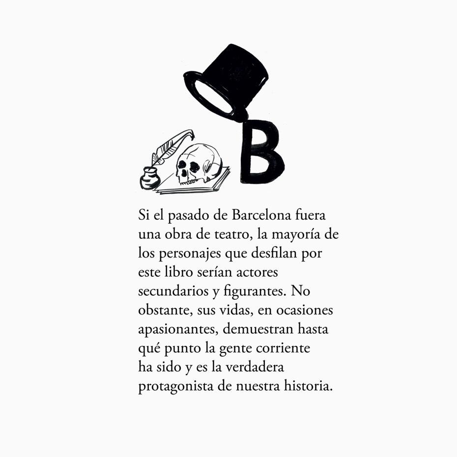 50 personajes inolvidables de barcelona - design by jordiboix