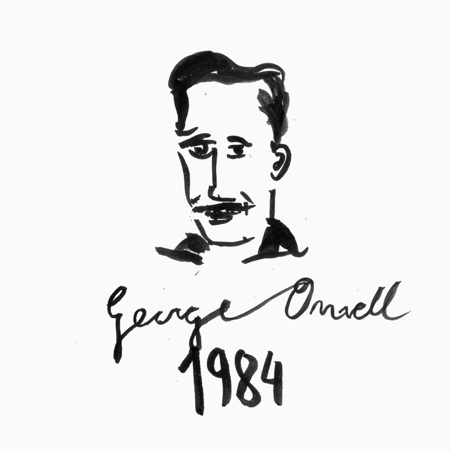 george orwell - design by jordiboix