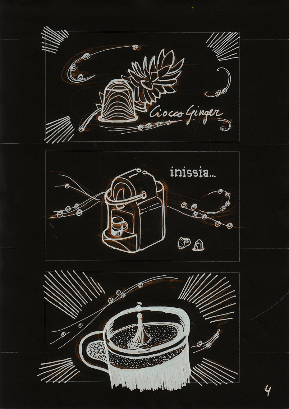 nespresso story board - design by jordi boix