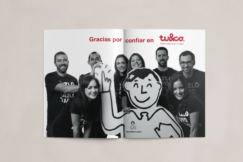 tuandco brochure - design by jordiboix