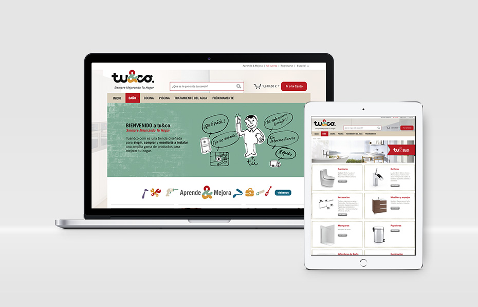tuandco web - design by jordiboix