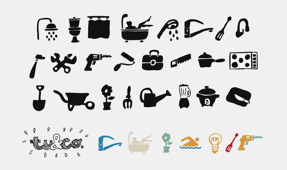 tu&co icons - design by jordi boix